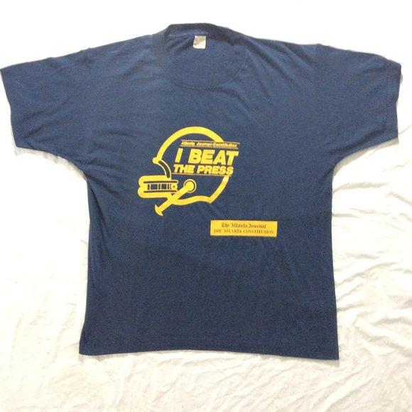 Screen Stars Other - Atlanta Football 80's Vintage Screen Stars Shirt
